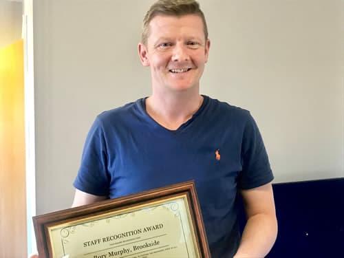 Staff Award 4 Rory Murphy Brookside